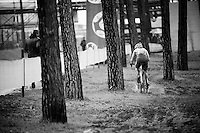 Evie Richards (GBR) leading the way<br /> <br /> Women U23 Race<br /> UCI 2016 cyclocross World Championships