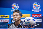Team Formers of Kashiwa Reysol attends the Pre Match Press Conference prior to the Guangzhou Evergrande vs Kashiwa Reysol match as part the AFC Champions League 2015 Quarter Final 2nd Leg match on September 14, 2015 at  Tianhe Sport Center in Guangzhou, China. Photo by Aitor Alcalde / Power Sport Images