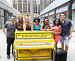 'Beautiful - The Carole King Musical' unveil a 'Sing for Hope' Piano