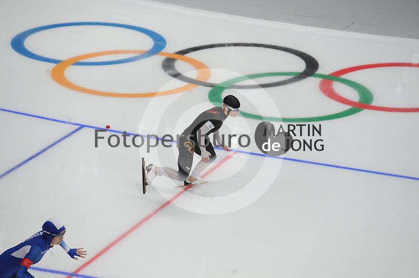 OLYMPIC GAMES: PYEONGCHANG: 18-02-2018, Gangneung Oval, Long Track, 500m Ladies, Judith Dannhauer (GER), ©photo Martin de Jong