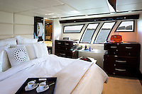luxury boat cabin