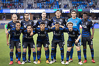 Santa Clara, CA - Saturday, March 24, 2018: San Jose Earthquakes lost a friendly game to Leon 1-0 at the Avaya Stadium in Santa Clara.