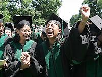 graduate celebrate happy