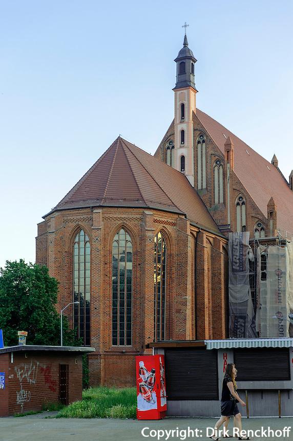 Johanniskirche (Sw.Jana) in Stettin (Szczecin), Woiwodschaft Westpommern (Województwo zachodniopomorskie), Polen, Europa<br /> Church Sw.Jana in Szczecin, Poland, Europe