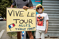 roadside fans <br /> <br /> Stage 2 from Nice to Nice (186km)<br /> <br /> 107th Tour de France 2020 (2.UWT)<br /> (the 'postponed edition' held in september)<br /> <br /> ©kramon