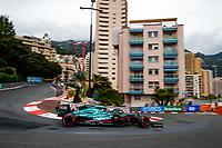 22nd May 2021; Principality of Monaco; F1 Grand Prix of Monaco, qualifying sessions;  05 VETTEL Sebastian (ger), Aston Martin F1 AMR21