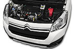 Car Stock 2016 Citroen BERLINGO-MULTISPACE XTR+ 5 Door Mini MPV Engine  high angle detail view