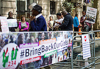 """05.05.2014 - """"Bring Back Our Girls"""" - Demo Outside Nigeria House"""