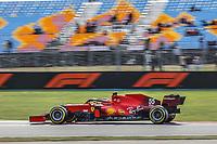 8th October 2021; Formula 1 Turkish Grand Prix 2021 free practise at the Istanbul Park Circuit, Istanbul; <br />  SAINZ Carlos (esp), Scuderia Ferrari SF21