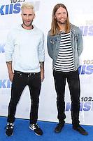CARSON, CA, USA - MAY 10: Adam Levine, James Valentine, Maroon 5 at 102.7 KIIS FM's 2014 Wango Tango at StubHub Center on May 10, 2014 in Carson, California, United States. (Photo by Xavier Collin/Celebrity Monitor)