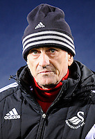 Manager Francesco Guidolin of Swansea City arrives for the Barclays Premier League match between West Bromwich Albion and Swansea City at The Hawthorns on the 2nd of February 2016