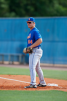 New York Mets Gavin Garay (84) during a Minor League Spring Training intrasquad game on March 29, 2018 at the First Data Field Complex in St. Lucie, Florida.  (Mike Janes/Four Seam Images)