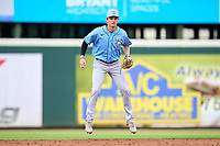 FCL Rays shortstop Tanner Murray (53) during a game against the FCL Pirates Gold on July 26, 2021 at LECOM Park in Bradenton, Florida. (Mike Janes/Four Seam Images)