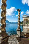 Italien, Lombardei, Comer See, Varenna: im Botanischen Garten der Villa Monastero | Italy, Lombardia, Lake Como, Varenna: at botanical garden of Villa Monastero