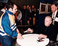 Montreal (Qc) CANADA - File Photo - 1999- Maurice Richard