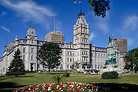 The Parliament Building in Quebec City, French Canada's Capitol, PQ, Canada. Quebec City Quebec Canada.