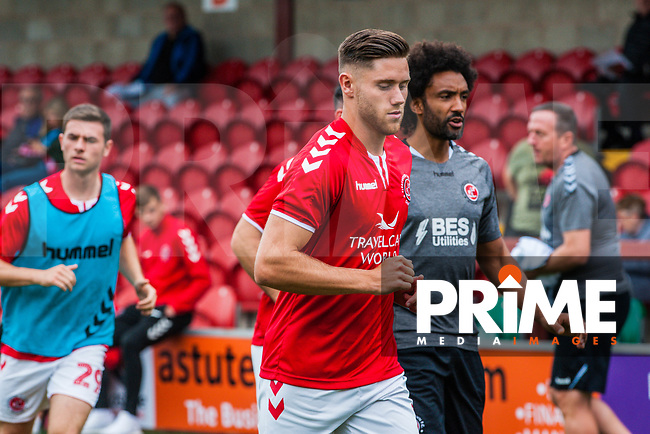 Fleetwood Town's forward Wes Burns (7) during the Sky Bet League 1 match between Fleetwood Town and Bradford City at Highbury Stadium, Fleetwood, England on 1 September 2018. Photo by Stephen Buckley / PRiME Media Images.