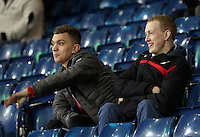 Fans chat before kick off of the Premier League match between West Bromwich Albion and Swansea City at The Hawthorns, England, UK. Wednesday 14 December 2016
