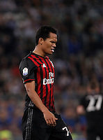 Calcio, finale Tim Cup: Milan vs Juventus. Roma, stadio Olimpico, 21 maggio 2016.<br /> AC Milan's Carlos Bacca reacts during the Italian Cup final football match between AC Milan and Juventus at Rome's Olympic stadium, 21 May 2016.<br /> UPDATE IMAGES PRESS/Isabella Bonotto