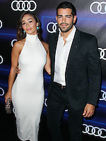 WEST HOLLYWOOD, CA, USA - AUGUST 21: Cara Santana, Jesse Metcalfe at the Audi Emmy Week Celebration 2014 held at Cecconi's Restaurant on August 21, 2014 in West Hollywood, California, United States. (Photo by Xavier Collin/Celebrity Monitor)