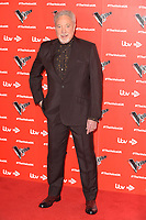 """Sir Tom Jones<br /> at the launch photocall for the 2019 series of """"The Voice"""" London<br /> <br /> ©Ash Knotek  D3468  03/01/2019"""