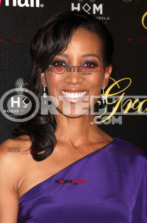 Shaun Robinson at the Alliance for Women in Media Foundation's 37th Annual Gracie National Awards at The Beverly Hilton Hotel on May 22, 2012 in Beverly Hills, California. ©mpi28/MediaPunch Inc.