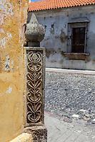 Antigua, Guatemala.  Mororish Influence in Design, Parque de Union.