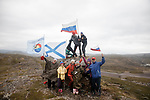 Fans wait for the riders during Stage 2 of the 2018 Artic Race of Norway, running 195km from Tana to Kjøllefjord, Norway. 17th August 2018. <br /> <br /> Picture: ASO/Rasmus Kongsore | Cyclefile<br /> All photos usage must carry mandatory copyright credit (© Cyclefile | ASO/Rasmus Kongsore)