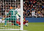 Real Madrid CF's Dani Carvajal  during UEFA Champions League match, groups between Real Madrid and Galatasaray SK at Santiago Bernabeu Stadium in Madrid, Spain. November, Wednesday 06, 2019.(ALTERPHOTOS/Manu R.B.)