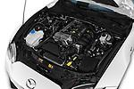 Car stock 2019 Mazda MX-5 RF Club 2 Door Convertible engine high angle detail view