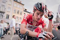 Tosh Van der Sande (BEL/Lotto-Soudal) 'empty' after finishing<br /> <br /> Belgian National Championships 2018 (road) in Binche (224km)<br /> ©kramon
