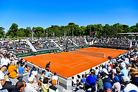General view of Court 14 full of spectators during the ninth round of Roland Garros tennis open at Roland Garros in Paris, France on Friday, 11 June, 2021. Photo by Baptiste Fernandez / Icon Sport