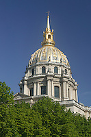 The Dôme Church, final resting place of Napoleon Bonaparte, in Les Invalides (National Residence of the Invalids), Paris, France