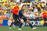 24 OCTOBER 2010:  Philadelphia Union forward Alejandro Moreno (15) during MLS soccer game against the Columbus Crew at Crew Stadium in Columbus, Ohio on August 28, 2010.