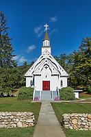 Country church, Cornwall, Connecticut, USA