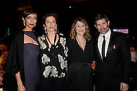 Sonia ROLLAND - Audrey AZOULAY - Daniela LUMBROSO - Jalil LESPERT - Diner de la mode du Sidaction 2017 - 26 janvier 2017 - Paris - France # DINER DE LA MODE DU SIDACTION 2017