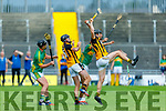A clean catch by Abbeydorney's Jamesie O'Connor against    Lixnaw in the Senior Hurling Championship quarter final.