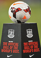 Match ball. The USWNT defeated Mexico 7-0 during an international friendly, at RFK Stadium, Tuesday September 3, 2013.