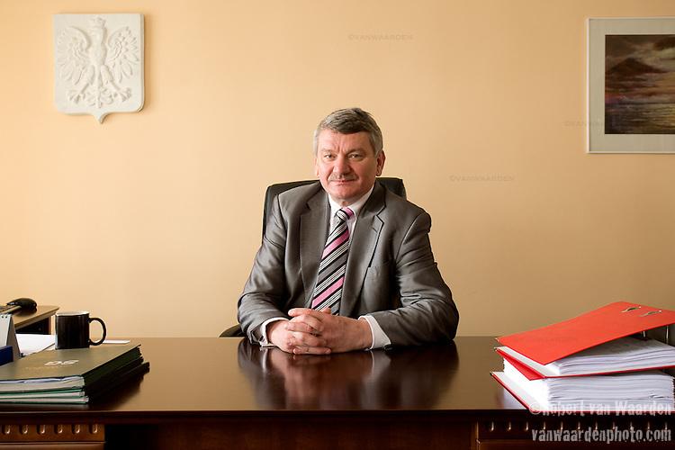 Leszek Kuliński, mayor of Kobylnica, Poland.