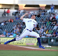 Nate Pearson plays in the 2018 Arizona Fall League Fall Stars Game at Surprise Stadium on November 3, 2018 in Surprise, Arizona. The game was won by the West team, 7-6 (Bill Mitchell)