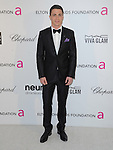 Colton Haynes at the 21st Annual Elton John AIDS Foundation Academy Awards Viewing Party held at The City of West Hollywood Park in West Hollywood, California on February 24,2013                                                                               © 2013 Hollywood Press Agency