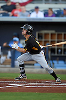 Bradenton Marauders shortstop Adam Frazier (10) during a game against the Charlotte Stone Crabs on April 4, 2014 at Charlotte Sports Park in Port Charlotte, Florida.  Bradenton defeated Charlotte 9-1.  (Mike Janes/Four Seam Images)