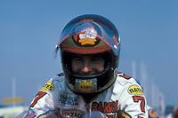 Barry Sheene GBR / Suzuki who died of cancer on 10 03 2003 in Australia