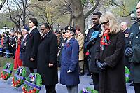 Nov 11, 2012 - Montreal, Quebec, CANADA -  Remembrance Day - Justin Trudeau