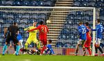 26.11 2020 Rangers v Benfica: Pizzi scores Benfica's second goal past Alan McGregor