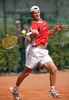 16-8-06,Amsterdam, Tennis, NK,  Quarter final match, Antal van der Duim