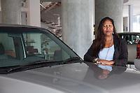 Usha Nagpal, general sales manager for Nissana nd Renault at DT Dobie in Nairobi, Kenya.