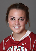 STANFORD, CA - OCTOBER 29:  Emily Layden of the Stanford Cardinal women's lacrosse team poses for a headshot on October 29, 2009 in Stanford, California.