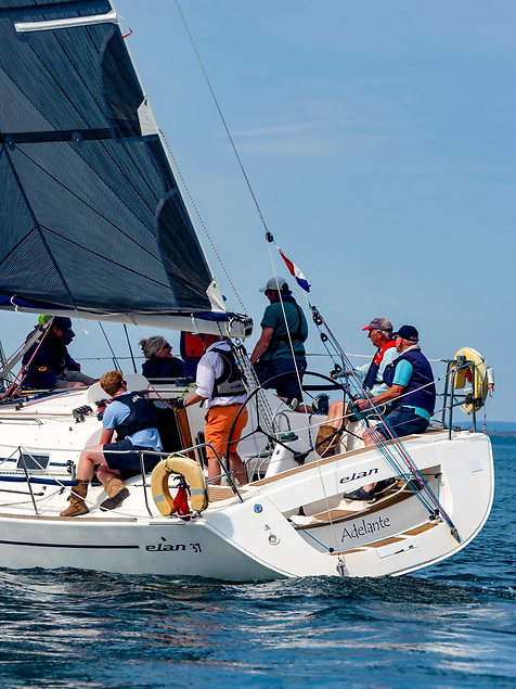 Adelante was the winner of NHC 2 division of the Narrows Regatta