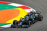 30th April 2021; Algarve International Circuit, in Portimao, Portugal; F1 Grand Prix of Portugal, Free practise:  05 VETTEL Sebastian (ger), Aston Martin F1 AMR21